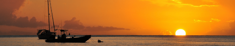 Guadelopue Islands sunset