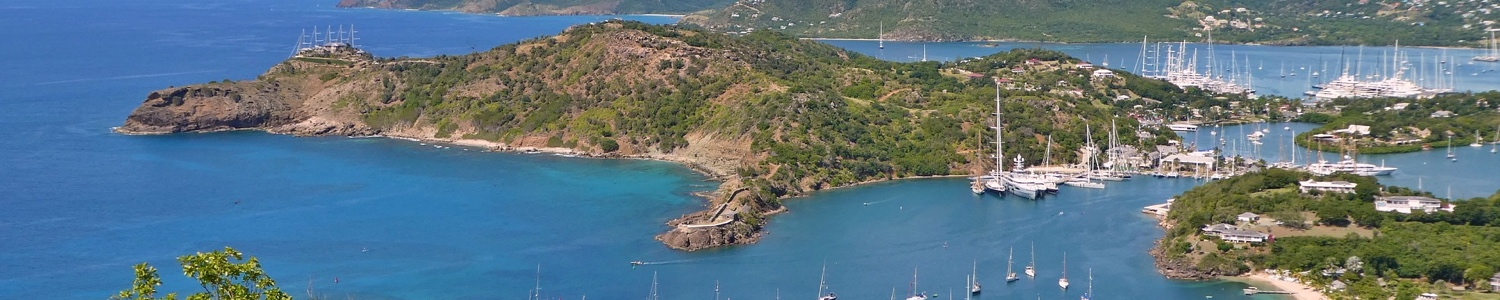 Image of Antigua Port, one of the destinations on luxury holiday cruise ship, Silversea, luxury Caribbean cruises